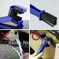Wholesale 10 New Chain Brush Motorcycle Bicycle Cycling ATV Maintenance Cleaning Tool Gear
