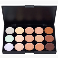 Wholesale 50pcs Makeup Palette Colors Face Camouflage Concealer Profession Enabling Layering And Mixing Black Case
