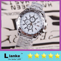 Wholesale New Luxury ORIANDO Celebrity White Master Water Resist Sports Men Watch Three eye six stitches fashion copper strip men s sports watches
