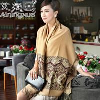 Wholesale new ladies cotton scarves ethnic bohemian lengthened shawl scarf
