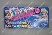frozen Loom Bands set Fun DIY Loom Rubber Kit Colorful Brace...