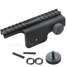 Hunting Side Mounted Scope Rail Ruger Base Black M1A M14