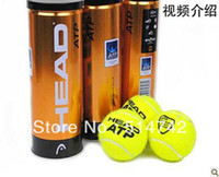 Wholesale Free Shjpping A Barrel Origenal Authentic Brand New ATP Gold Canning Pack Master Tennis Ball Z