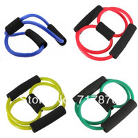 Wholesale 10 Resistance Training Band Tube Weight Control Fitness Stretch Equipment Fit Yoga