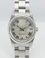 al por mayor día de la mujer calientes-Caliente Cara Negro números romanos para mujer de acero inoxidable relojes de diseño de moda de las señoras de pulsera Fecha Día de la Mujer reloj de buena calidad para las niñas