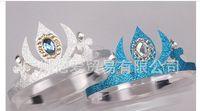 Wholesale 2014 new children accessories frozen girls accessories crown frozen elsa anna diamond crown cosplay tools