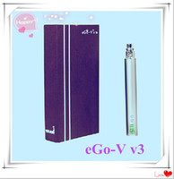 Single Electronic Cigarette vv3 kit Ego v v3 battery Eeectronic cigarette battery ego v v3 variable voltage battery 1300mah ego VV VW battery e cig e-cigarette battery ego vv3