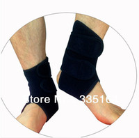 Wholesale Neoprene Elastic Ankle Foot Brace Elastic Bandage Guard Protector Sports For Muay Thai Boxing Gym Washable One Size Fits All