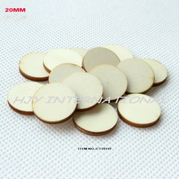 Wholesale quot blank cutout circle round wood disks crafts earrings bulk wooden pieces ornaments CT1074A