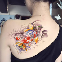 Airbrush Kit Normal size YCTF PRINTING / one hundred million off  One hundred million off -color tattoo totem tattoo stickers affixed carp tattoo sticker waterproof tattoo stickers tattoos