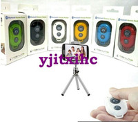 Wholesale 2014Bluetooth Remote Shutter Self Timer Shutter Remote Control For iPhone S Samsung