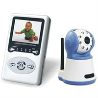 Wholesale Wireless Baby Monitor with inch TFT LCD child dvr with Night Vision and Intercom
