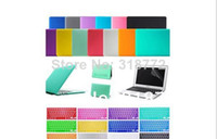 Wholesale Transparent Hard Case For Macbook Pro Air Retina Crystal See Through Glossy Cover For Macbook Keyboard Skin Cover407