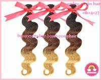 Cheap Peruvian Hair ombre color hair Best Body Wave peruvian remy hair  body wave