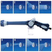 Car Washer CDE_914 ABS Adjustable Multi-function Water Spray Gun with 8 Spray Settings Dispenser for Car Cleaning car washer Gardening Windows Washing CDE_914