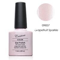 Wholesale Crislish Gel polish Soak off Long lasting professional nail beauty Grapefruit Sparkle ml fl oz drop shipping
