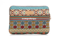 Unisex Floral Bohemia Trend Wholesale-Fashion Bohemia laptop sleeve case Cover Bag for ipad for Apple MacBook AIR pro 10 12 13 14 15 inch notebook computer tablet PC407