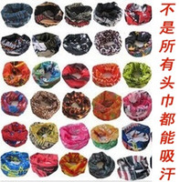 Wholesale Outdoor seamless magic sunscreen ride magicaf hip hop anti uv multifunctional bandanas super absorbing buff