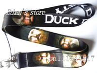Wholesale Boys cartoon DUCK DYNASTY Key lanyard Mobile neck strap 407