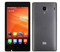 Оригинальный XIAOMI Red Rice Hongmi 4.7#039;#039; IPS HD Quad Core мобильный телефон MTK6589T 1GB RAM 4 Гб ROM 3G WCDMA Dual SIM Multi Язык