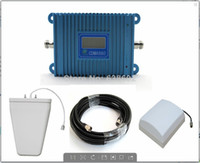 mobile phone market - Direct Marketing Sunhans LCD Display CDMA850Mhz square Mobile phone signal booster CDMA Repeater with parts sets