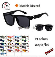 Wholesale spy Brand Discord Coating Sunglasses Men Women Designer Sun Glasses Cycling Sport Glasses oculos de sol ZD240 DHL free