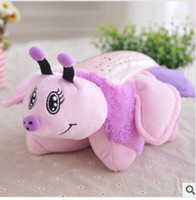 Christmas Tree Yes Yes Supply butterfly animal pillow baby sleep light romantic Star projector lamp night light plush toys