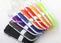 For Samsung Plastic  Hybrid Kickstand Kick stand hard Plastic holder TPU Gel skin cover case for Samsung Galaxy S3 Mini I8190 I9300 S4 MINI I9190 10PCS 20PCS