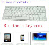 Wholesale Bluetooth Wireless Keyboard for PC Macbook Mac air pro iPad air mini iPhone s s with retail box