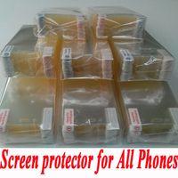 al por mayor iphone protector de pantalla 5c-Transparente Clear LCD protector de pantalla de la película de cine protector para el iPhone 6S 5S 4 SE 5C iPhone 6 más Galaxy S7 borde S6 S5 S4 Nota 5 4 3 HTC LG