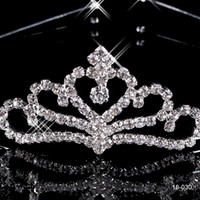Wholesale Cheap New Popular Beautiful Hair Accessories Comb Crystal Rhinestone Bridal Wedding Tiara