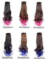 pony hair - 22 quot Hair Piece Curly Ponytail Pony Tail LADY Wig Clip On Hair Extensions