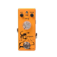 Wholesale Movall Audio Mini Riot MM Scorpion Distortion Micro FX Pedal True Bypass