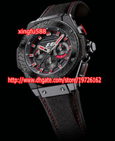 Wholesale Fashion luxury men s watches rubber strap silver bezel bang professional design hand wind watch