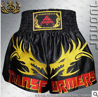 Wholesale Kau Lung QJ105 Ssangyong genuine Muay Thai Shorts Boxer Shorts Sanda Sanda fighting pants pants