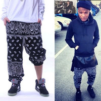 Pants 27 - Hot Seller Cease Desist West Cost Bandana Pants Heybig Hip Hop Pants Paisley Harem Pants Men tk1118