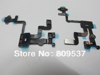 Wholesale Light Proximity Sensor Power Buton Flex Cable for Apple iphone S GS Original New