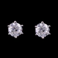 Wholesale Jewelry Top Stainless Steel Mix Czech Rhinestone Earrings sell well European fashion jewelry