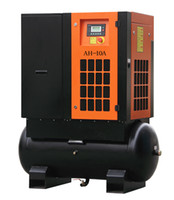 Wholesale 7 HP Chinese Tank Mounted Screw Air Compressor For Sale