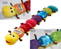 Birds & Insects colorful Plush Wholesale Lamaze Newest Children Stuffed Plush Toys Top Quality Bell Musical Inchworm Soft Toy Hanging Doll