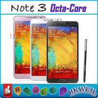 Octa Core Note 3 Cell Phone MTK6592 1. 7GHZ 2G RAM 16G ROM An...