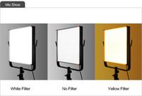 Wholesale AL LED video studio light Top Lighting dimmable flicker free