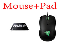 8200 Wired Liquid Boxed Razer Taipan Gaming mouse 8200 DPI + Steelseries QcK+ Mbr version Mouse pad Best Selling!games mouse pad Free Shipping
