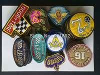 Patches accessories woven labels - Sales promotion Mixed iron on patches sew on patch badge Appliques Woven label embroidered patch