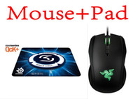 8200 Wired Liquid Boxed Razer Taipan Gaming mouse 8200 DPI + Steelseries QcK+ SK Mouse pad Best Selling ,games mouse pad Free Shipping!!!
