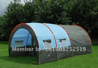 Wholesale 10persons large family tent camping tent tunnel tent Hall room party tent