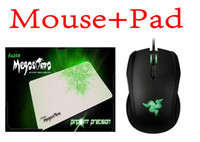 8200 Wired Liquid Boxed Razer Taipan Gaming mouse 8200 DPI + Razer Megasoma Mouse pad Best Selling , games mouse pad Free Shipping