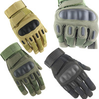 Finger Gloves army leather gloves - 2015 New Wear Mechanix Military Tactical Army Combat Riding Motorcycle Knuckle Shooting Bicycle Motorcross Cycling Full Gloves