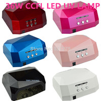 UV Lamp 36W EU 36W LED CCFL LED UV Lamp Nail Dryer Nail Care Machine for UV Gel Nail Polish