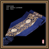Wholesale The new high grade imitation brocade fight paperclip side table runner thirty five rich floral tapestry